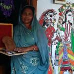 Madhubani Art/ Ranti, Madhubani, Bihar.