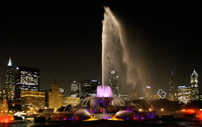 Music and Light show / Buckingham Fountain