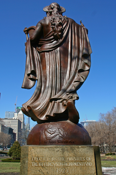 Spirit of Music Statue - by Albin Polasek