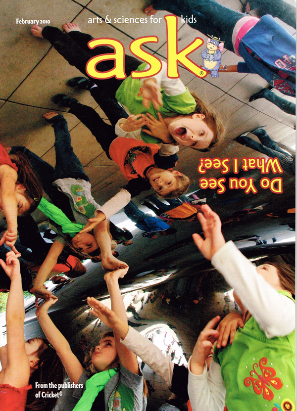 Cover page – Ask magazine / Feb, 2012