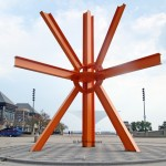 The Calling - by Mark di Suvero. / MAM.
