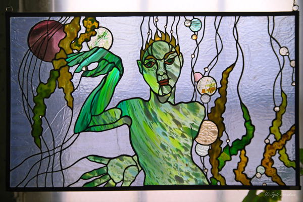 Stained Glass Window - by Sharon Bladholm