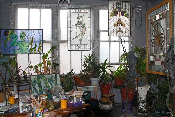 2007 Studio Visit: Sharon Bladholm