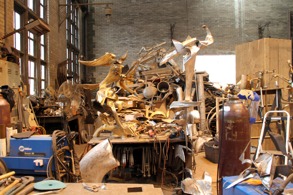 2010 Studio Visit: Richard Hunt