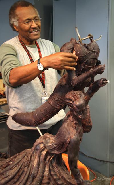 2010 Studio Visit: Preston Jackson / SAIC - Sculpture Class
