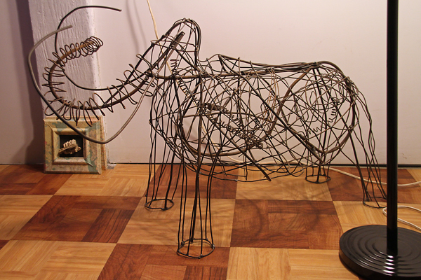 "Maquette for ""Mammoth"" - by Lucy Slivinski"