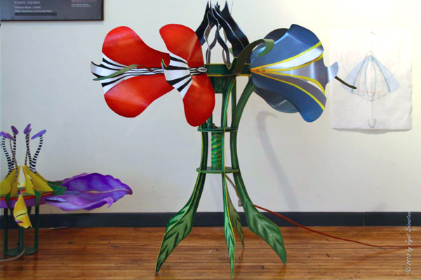 Kinetic Flower - by Christine Rojek