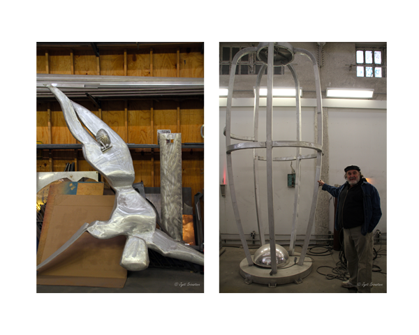 2011 Studio Visit: S. Thomas Scarff  / Icarus
