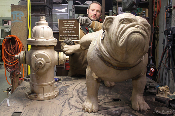 Bulldog and Hydrant is now complete.