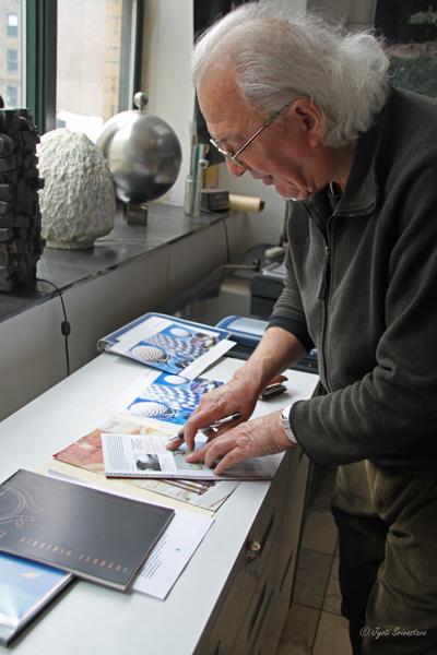 2011 Studio Visit: Virginio Ferrai