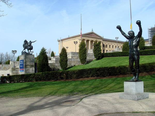 The Rocky Statue  / Philadelphia / Image by Bobak Ha'Eri  via Creative Commons.