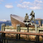 American Merchant Marines Memorial - by Marisol Escobar
