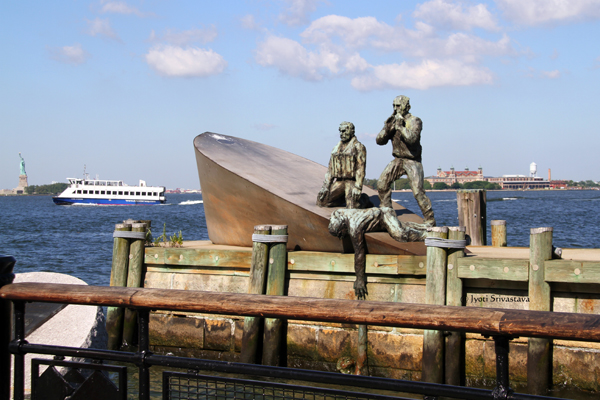 American Merchant Mariners Memorial  - by Marisol Escobar