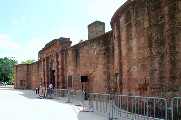 West Battery - Castle Clinton - Now Castle Garden - A National Monument