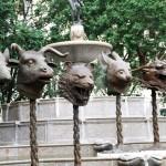 Circle of Animals/Zodiac Heads - by Ai Weiwei