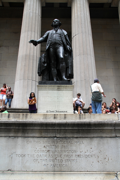 George Washington  - by John Quincy Adams Ward
