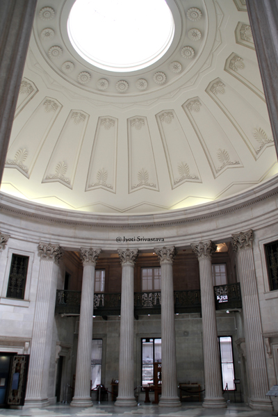 Rotunda and Main Hall / The Federal Hall National Memorial, New York City.