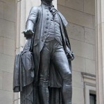 George Washington Memorial - Statue by John Quincy Adams Ward