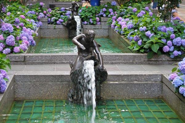 Channel Gardens Fountainheads- by Rene Paul Chambellan