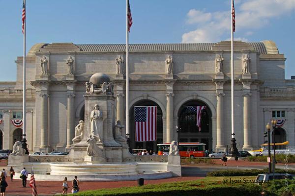 Christopher Columbus Memorial Fountain.