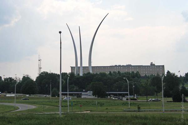 Air Force Memorial..