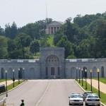 The Arlington National Cemetery..
