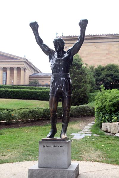 The Rocky Statue  / Philadelphia