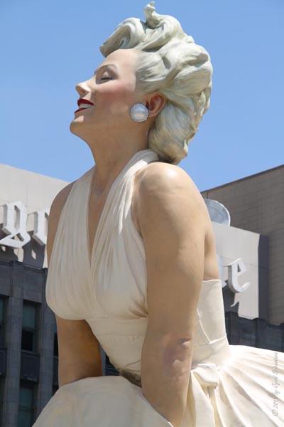 Forever Marilyn - by Seward Johnson
