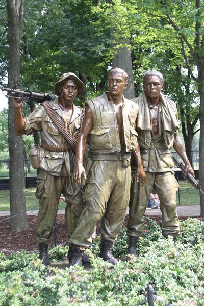 Vietnam Veteran Memorial..