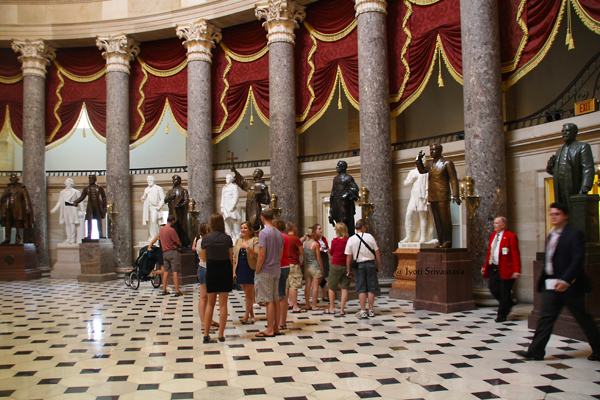 National Statutory hall / United States Capitol Building,  Washington, D.C.
