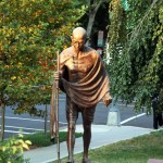 Mahatma Gandhi Statue - by  Gautam Pal