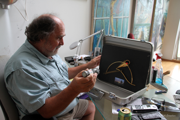 2011 Studio Visit: S. Thomas Scarff