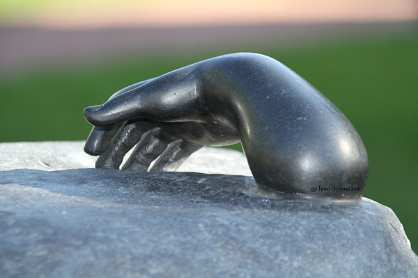 Helping Hands - by Louis Bourgeois