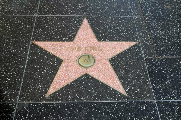 B.B.King / Hollywood Walk of Fame