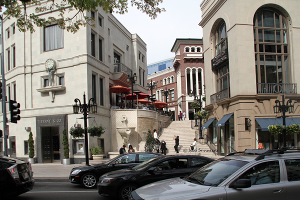 Two Rodeo Drive, Beverly Hills, California.