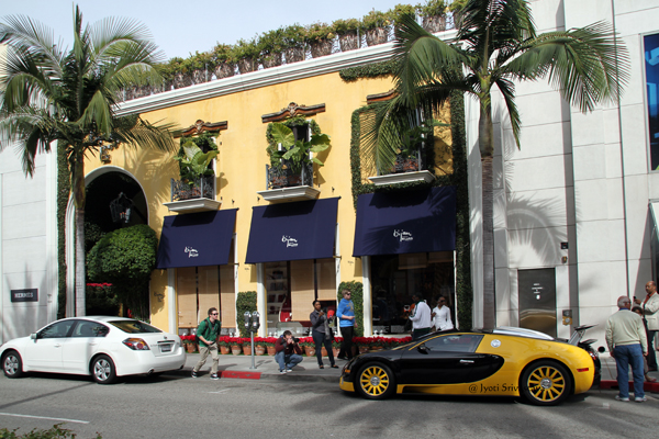 Rodeo Drive, Beverly Hills, California.