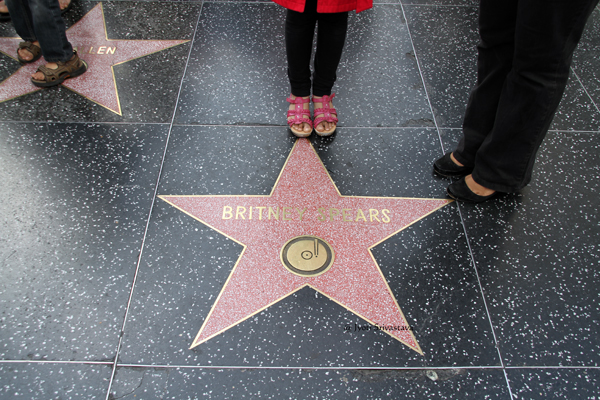 Britney Spears / Hollywood Walk of Fame