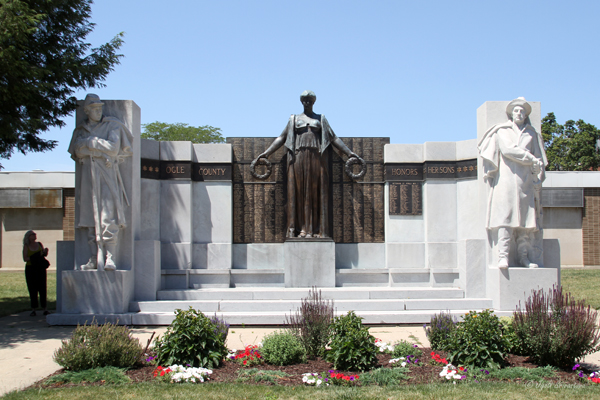 The Soldier's Monument - by Lorado Taft