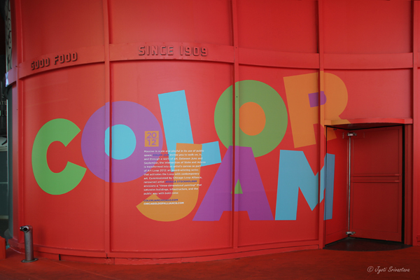 2012: Color Jam - by Jessica Stockholder
