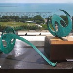 2012: Ron Gard Sculptures: Shapes and Spaces