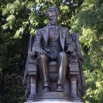 Sitting Lincoln - by Augustus Saint-Gaudens