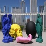 2012: Sculptures by Katharina Fritsch