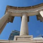 Wrigley Square and Millennium Monument
