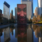 Crown Fountain - by Jaume Plensa