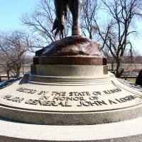 General John Logan Memorial - by Auguste Saint-Gaudens