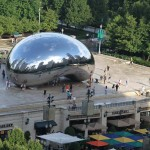 Cloud Gate / The Bean - by Anish Kapoor