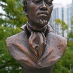Bust of Jean Baptiste Pointe DuSable - by Erik Blome