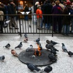 Daley Plaza: Eternal Flame Memorial