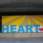 Heart Mural - by Erik DeBat