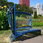 Glass Bench - by Ted Garner